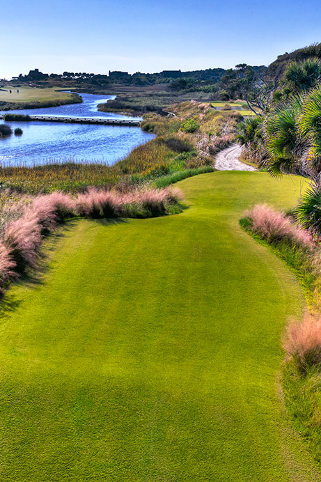 View of Hole 13 of The Ocean Course