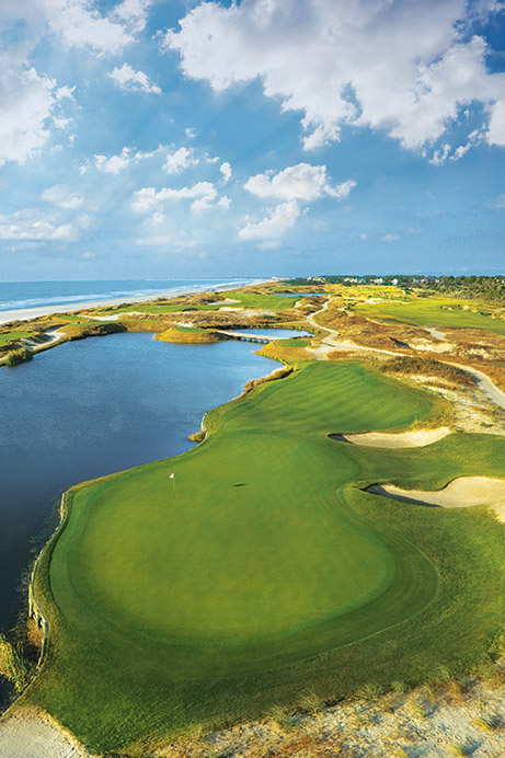 View of Hole 17 of The Ocean Course