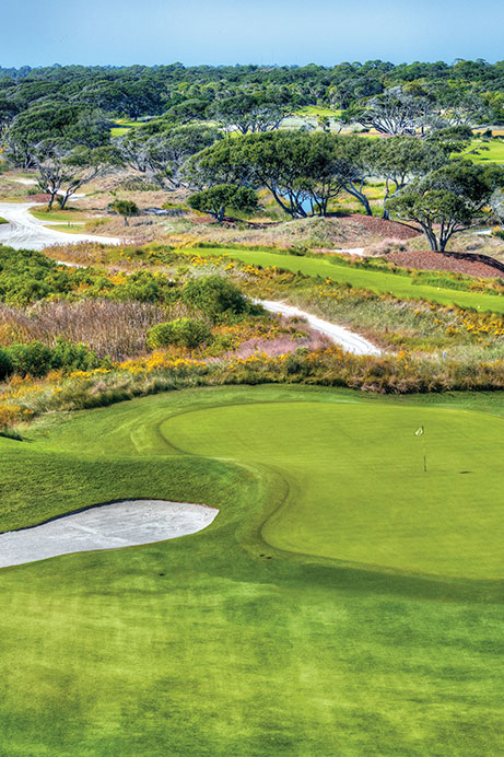 View of Hole 6 of The Ocean Course