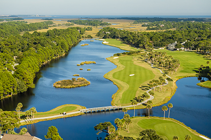 Aerial of Osprey Point No. 9 and No. 1