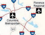 Interstate Road Map