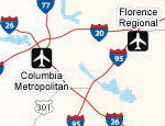 South Carolina Airports